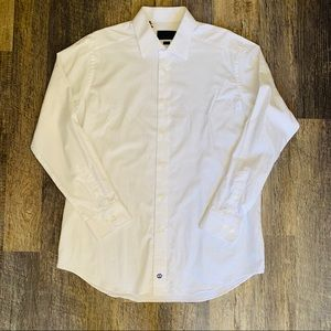 David Donahue slim fit super soft dress shirt